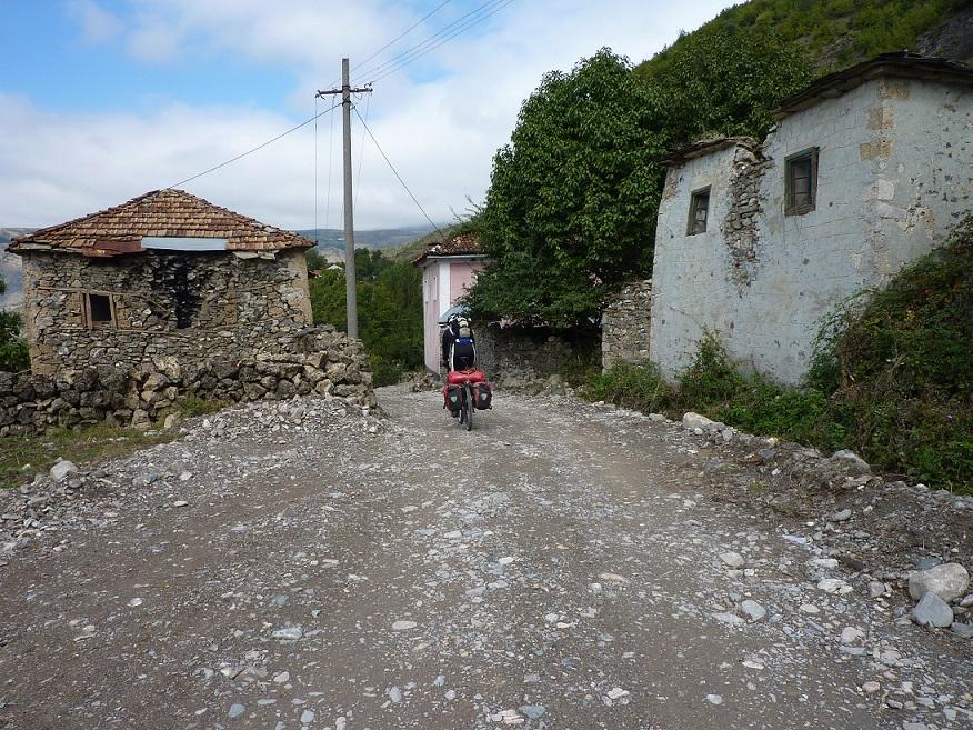 Albańska wioska