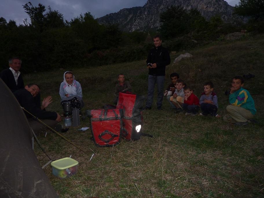 Wieczór w Albanii
