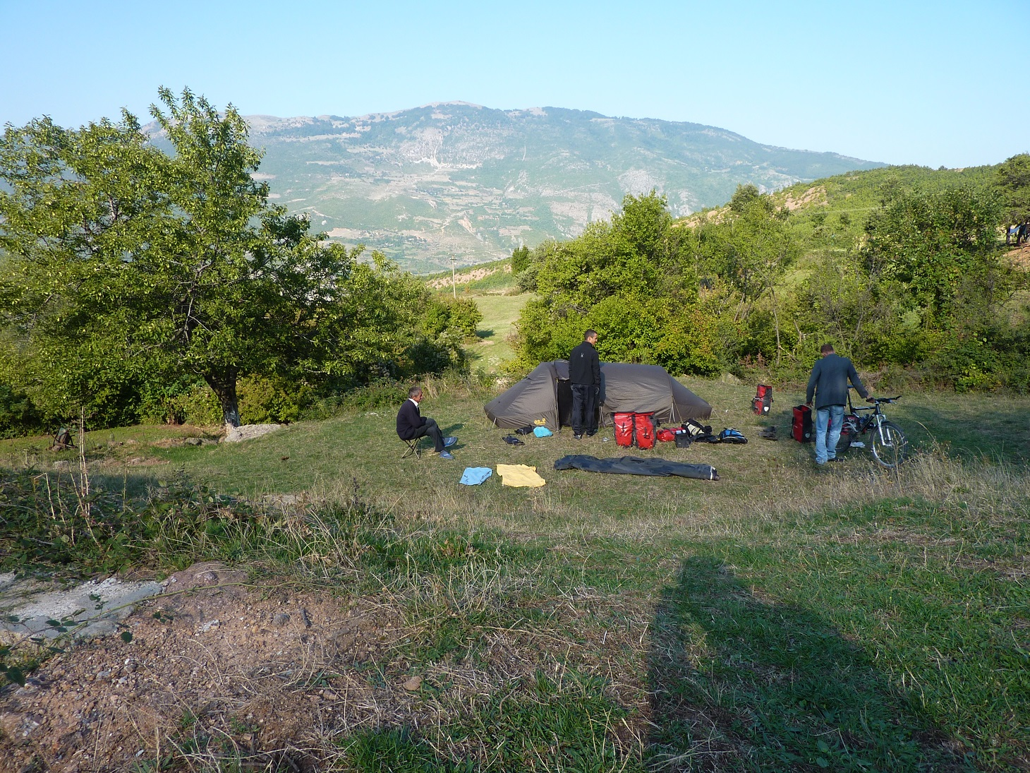 Poranek w Albanii
